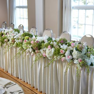 State of Bliss Head Table Arrangement