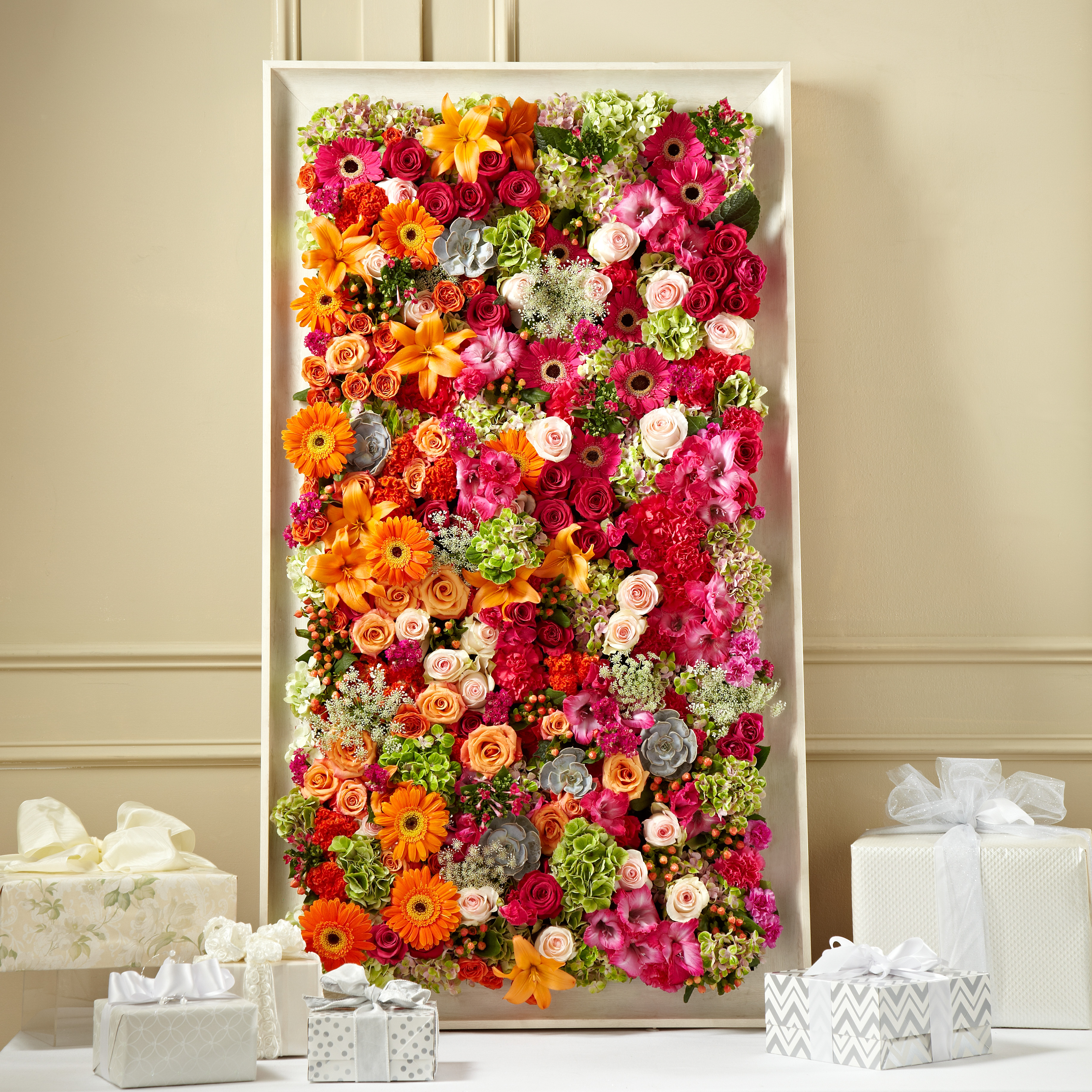 Fresh Picked Floral Wall
