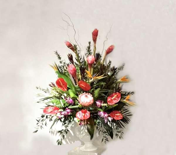 Tropical End Vase