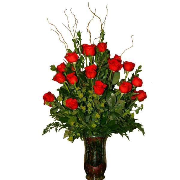 Medium Roses Vase