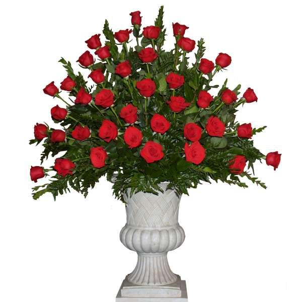 Roses End Vase