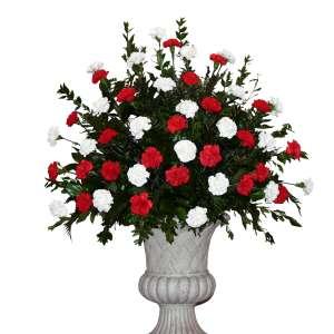 Carnation End Basket