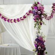 Color & Light Chuppah Decor